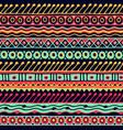 ethnicity seamless pattern boho style ethnic vector image vector image