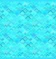 geometric diagonal square tile mosaic pattern vector image vector image