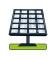 solar panel energy vector image vector image
