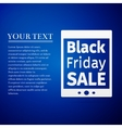Tablet PC with Black Friday Sale text on screen