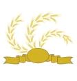 Wheat Symbol vector image vector image