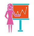woman pictogram cartoon vector image