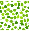 Background with leaves vector image
