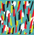 abstract colorful stripes seamless pattern vector image