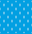 big spike pattern seamless blue vector image vector image
