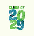 class of 2029 concept stamped word art vector image vector image
