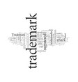 development search trademark vector image vector image