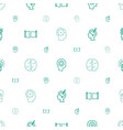 imagination icons pattern seamless white vector image vector image