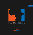 mama africa logo vector image