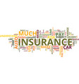 auto insurance which one text background word vector image vector image