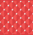 hearts flat seamless pattern vector image