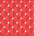 hearts flat seamless pattern vector image vector image