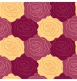 seamless texture of roses vector image