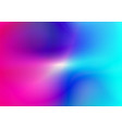 blurred abstract colorful background vector image vector image