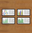 business modern presentation vector image vector image