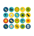 Flat icons set 2 vector image