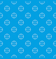 paintball gun sight pattern seamless blue vector image