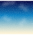 Stars in the night sky vector image vector image