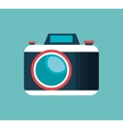 camera photographic isolaed icon vector image vector image
