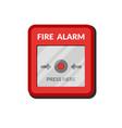 fire alarm system press button safety box