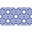 Islamic geometric seamless pattern background in vector image vector image