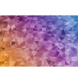 Mosaic rainbow abstract templates vector image