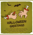 party halloween template vector image vector image