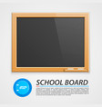 School wooden board
