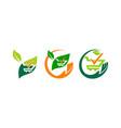 shop gardening verified set vector image