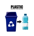 waste concept design vector image vector image