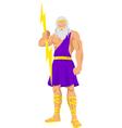 Zeus vector image vector image