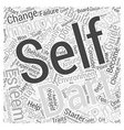 build your self esteem a starter guide to self vector image vector image