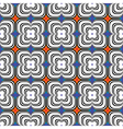 Design seamless colorful flower geometric pattern vector image