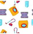 home appliances pattern cartoon style