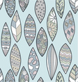 pattern leaves vector image vector image