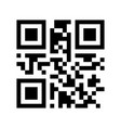 promotional qr code - black friday ready to use vector image