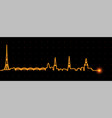 riga light streak skyline vector image vector image