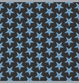 simple seamless pattern with sea starfish on black vector image
