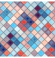 Small diagonal squares in patchwork stylle with vector image
