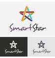 Star logo design template vector image