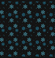 snowflakes decorated with circles and dots winter vector image