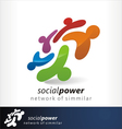 social power 1 vector image vector image