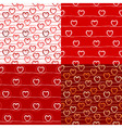 various love pattern vector image