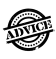 advice rubber stamp