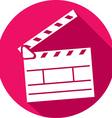 Clapboard Icon vector image vector image