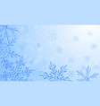 composition big translucent christmas vector image