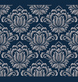 damask seamless emboss pattern background vector image vector image