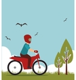 extreme sports design isolated vector image vector image