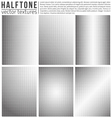 Halftone Textures vector image vector image