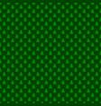 seamless green simple geometrical xmas tree vector image vector image